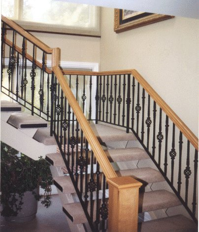 Interior Staircase Railing