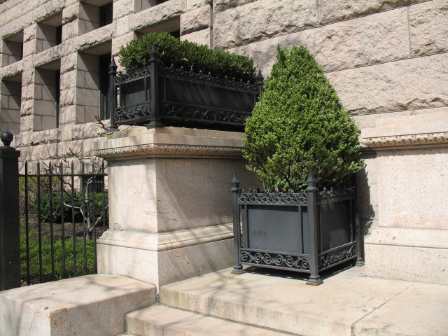 Planter Boxes, Newberry Library, Chicago