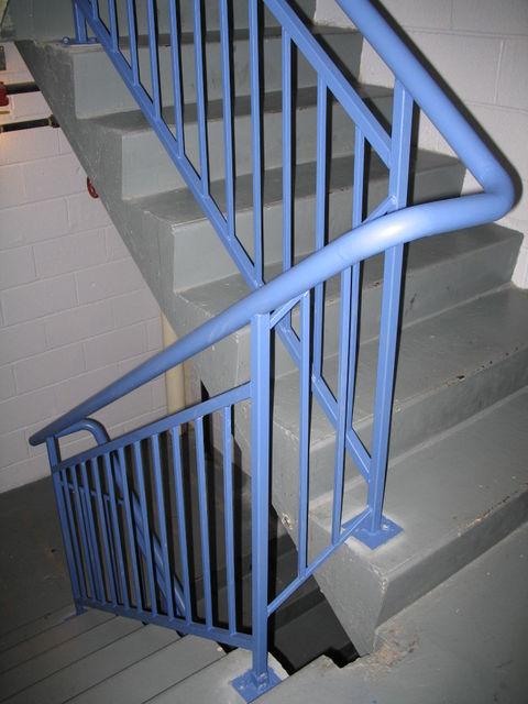 Indigo Hotel, Stairwell Railings