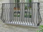 Juliette Balcony, SF-578/15 balusters, bronzetone